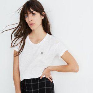 Madewell Tops - Madewell x Girls Inc. Female Symbol White T-Shirt